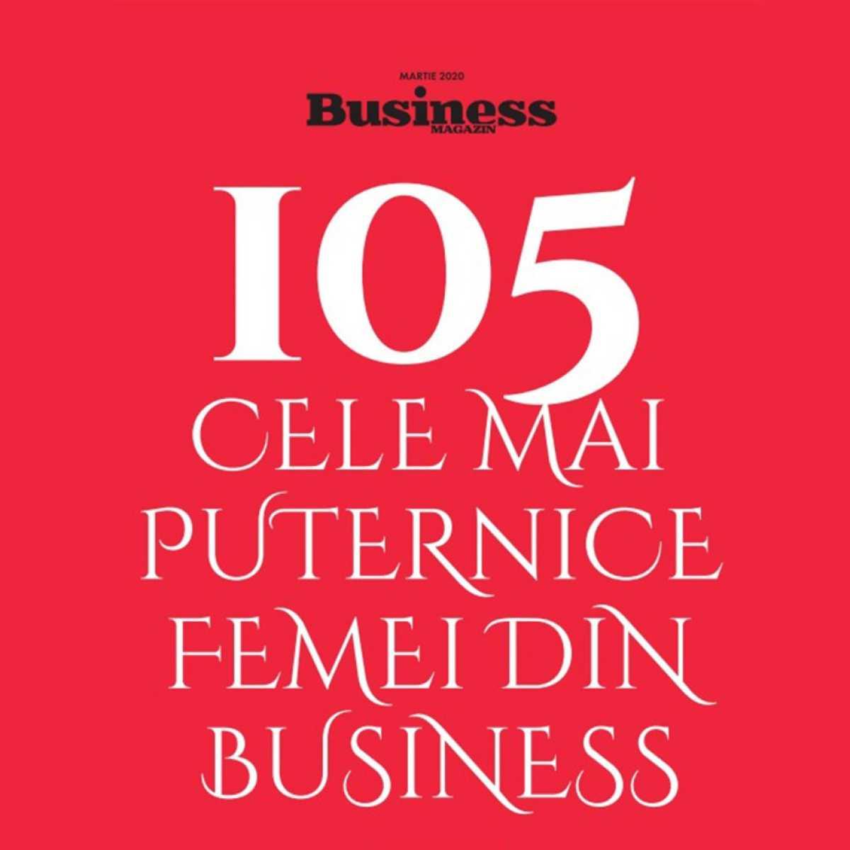Business Magazin : 100 most successful Romanian businesswomen