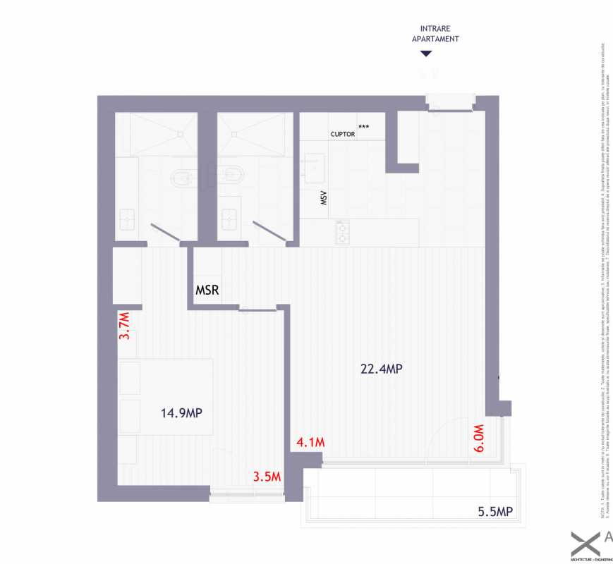 1 Bedroom Apartment For Sale In Neo Mamaia Blueprint
